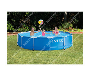 Бассейн каркасный Intex Metal Frame Pool, 366х76 см 28210