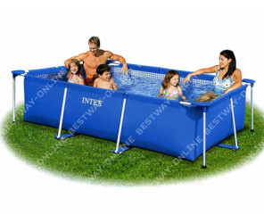 28270 Каркасный бассейн Intex Rectangular Frame Pool, 220х150х60 см 58983